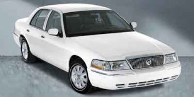 2003 Mercury Grand Marquis GS (Vibrant White Clearcoat)