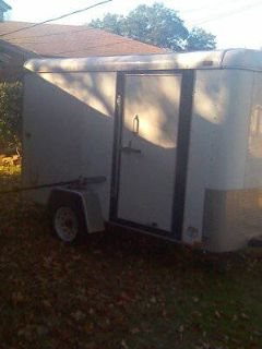 6x10 enclosed utility trailer