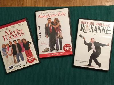 DVD Set of Movies in Good Condition