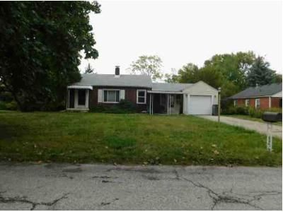 2 Bed 1 Bath Foreclosure Property in Indianapolis, IN 46219 - E 13th St