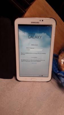 Samsung Galaxy 3 Tablet