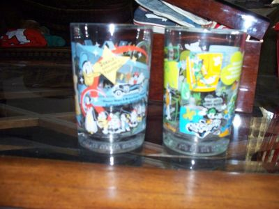 MICKEY MOUSE & GOFFEY GLASSES