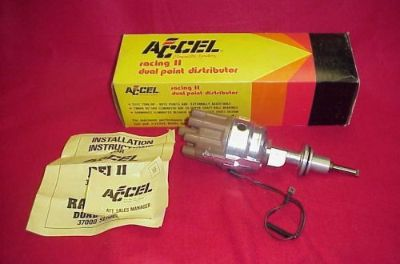 Sell NEW MOPAR 37301 ACCEL DUAL POINT DISTRIBUTOR SMALL BLOCK 273 318 340 360 DODGE motorcycle in Fort Wayne, Indiana, United States, for US $149.95