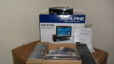 "Alpine 7"" DVD/CD/MP3/Reciever"
