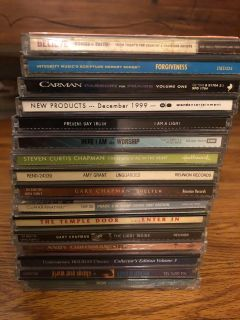 Christian CD collection