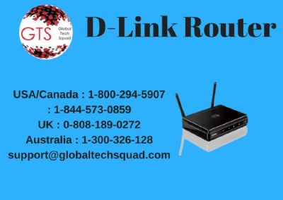 D-Link router support Toll free:1-800-294-5907