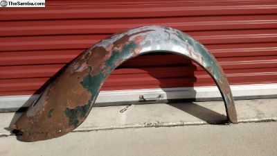 Split Rear Fender Rough