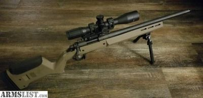 "For Sale: Magpul 700 sps 20"" .308 threaded timney,atlas,swfa"