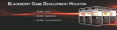 Blackberry Game Development Company Houston