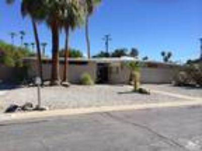 Palm Springs Three BR Two BA, Vacant and available now Large lot and