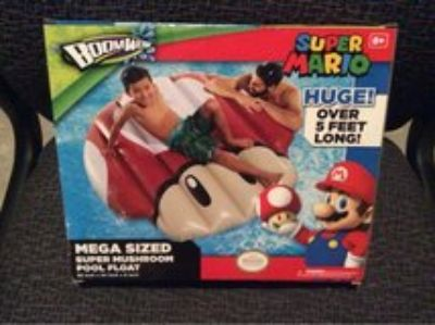 Super Mario inflatable pool float