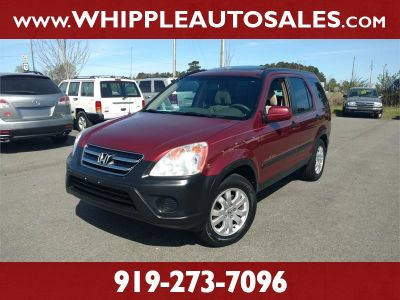 2006 Honda CR-V EX (Red)