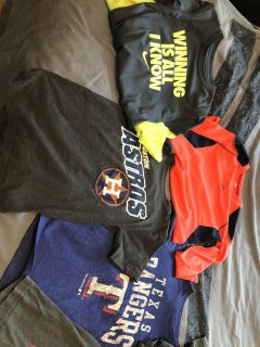 Boys tops size small 6-7