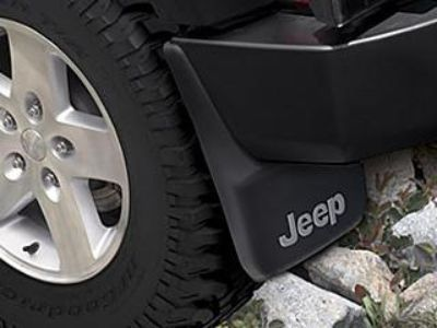 Purchase DCH Jeep JK Wrangler 2dr & 4dr splash mud guard kit REAR Mopar NEW 82210232 motorcycle in Temecula, California, US, for US $42.06