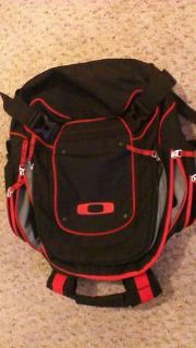 Oakley Backpack and Gascan Sunglasses