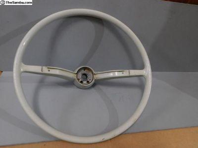 Used Ivory White Steering Wheel 113 415 651 E