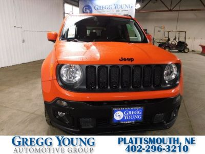 2018 Jeep Renegade Latitude (orange)