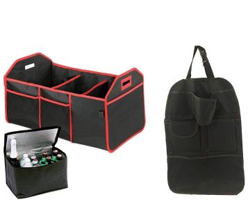 New in box - 3 piece Ultimate Car Organizer - As Seen on TV