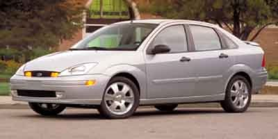 2003 Ford Focus Sony Limited (champagne)