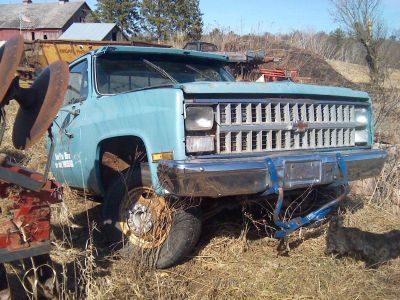 84  gmc front clip