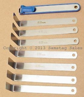 Find BMW 113 160 Valve Adjust Feeler Blade Set, New from Germany! motorcycle in Carthage, Tennessee, US, for US $44.99