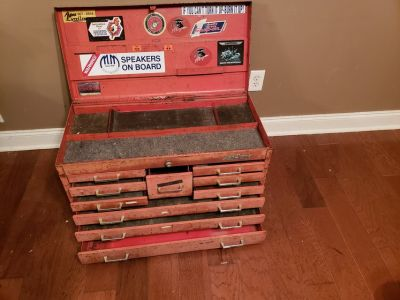 MAC Tools 10 Drawer Tool Chest!