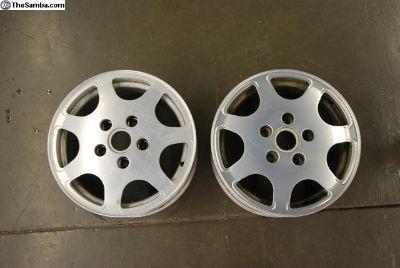 Porsche Club Sport Wheels 16x7 PAIR