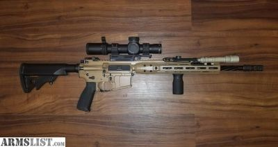 For Sale: LWRC IC-DI with Trijicon Accupower 1-8!