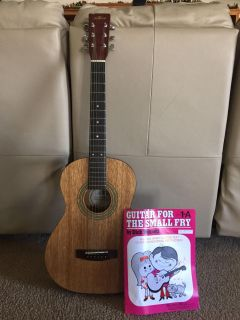 Youth Guitar and book