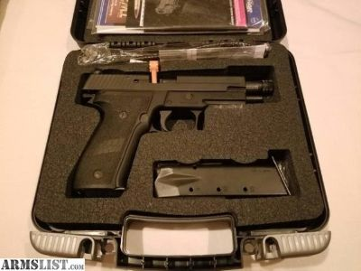For Sale: Sig P226 Mk25 w/ Threaded Barrel and Accessories