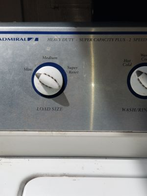 Heavy duty washer