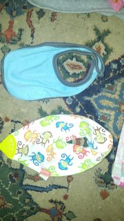 Bibs and baby boy pants