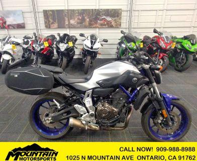 2016 Yamaha FZ-07 Sport Ontario, CA