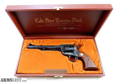 For Sale: Frontier Single Action Army Factory Engraved45 Colt