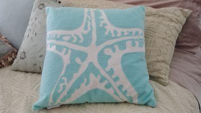 "Decorative ""starfish"" pillow"