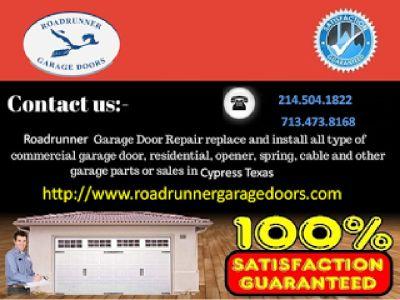 New Gate Installation | Garage Spring Repair Services in Dallas | $26.95