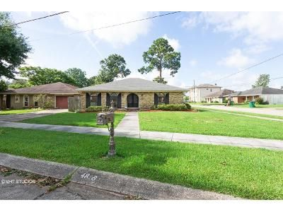 3 Bed 2 Bath Foreclosure Property in Metairie, LA 70006 - Belle Dr