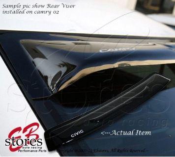 Sell Sun Guard Rear Visor Wind Shield Deflector Honda Civic 2001 2002 2003-2005 4DR motorcycle in La Puente, California, United States, for US $44.95