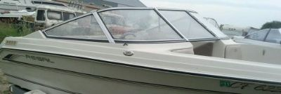 Sell CURVED GLASS WINDSHIELD COMPLETE OFF 1998 REGAL 176se WINDOW BONNET WINDSCREEN motorcycle in Faribault, Minnesota, United States, for US $699.00
