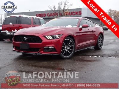 2015 Ford Mustang EcoBoost (Ruby Red Metallic Tinted Clearcoat)