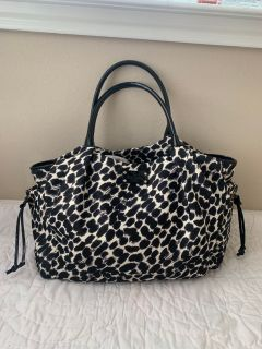 KATE SPADE LEOPARD DIAPER BAG. Like new. Bag only .