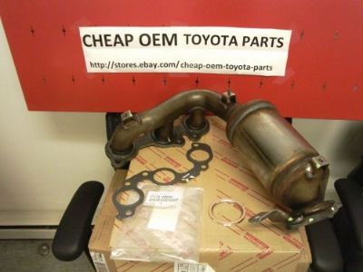 Find OEM GENUINE TOYOTA HIGHLANDER SIENNA V6 3.3L 3MZFE MANIFOLD CATALYTIC CONVERTER motorcycle in Milford, Massachusetts, United States, for US $475.00