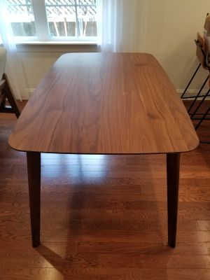 Dining Table - 29.4 inches (H) x 59 inches (W)
