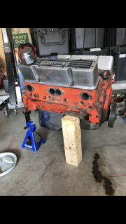 350 small block engine with transmission