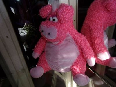 "12"" PINK PIG STUFFED ANIMAL Toy or Collectable a Great Gift For Piggy Lovers"