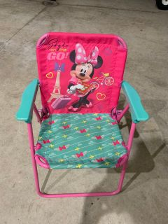 Minnie Mouse toddler chair