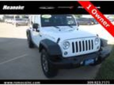 2015 Jeep Wrangler Unlimited Rubicon 4X4