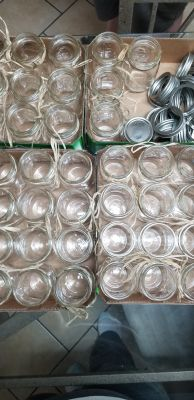 Balls Glass Mason Jars Pint Size