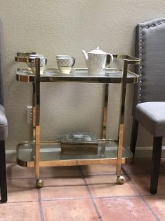 Cart and sofa table