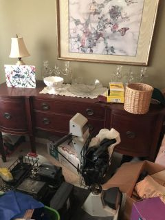 1940 s buffet and china cabinet